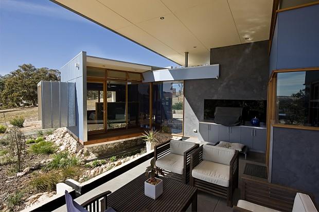 Birdwood Art House - A contemporary architecturally designed home
