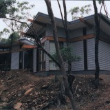Sustainably designed home in Blackwood - rear view