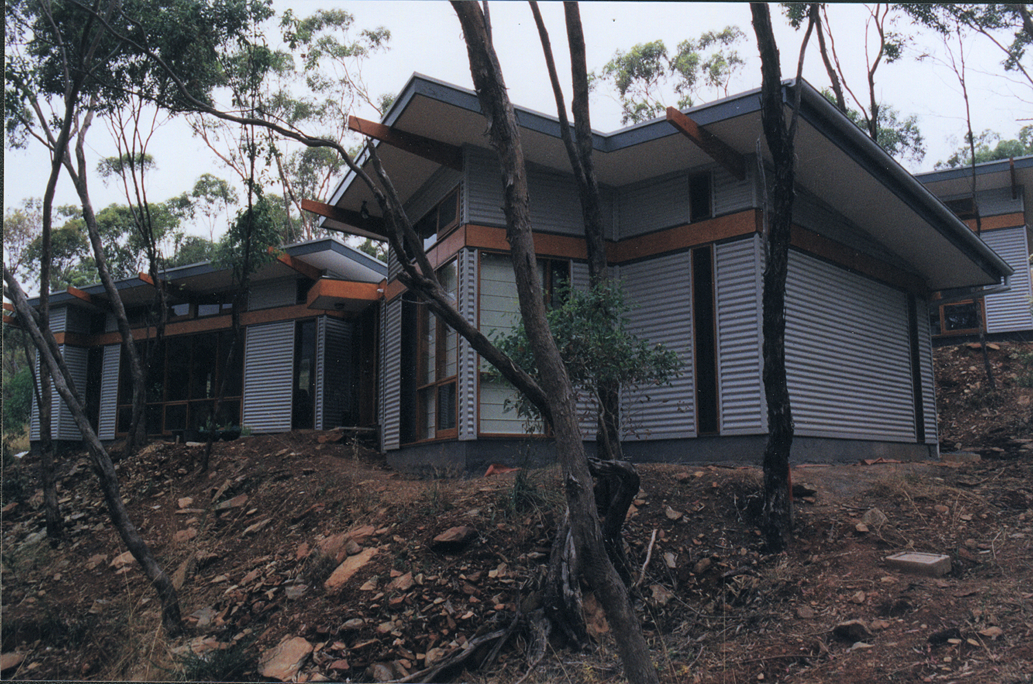 Blackwood passive solar house energy architecture for Affordable landscaping adelaide