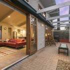 Urban Townhouse, Linear Park, Architectural Courtyard, Passive Design, Reverse Brick Veneer