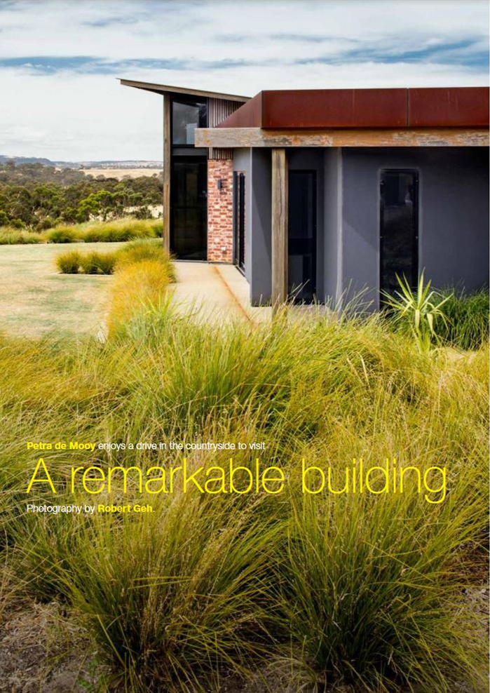 Fleurieu Living, Fleurieu Peninsula, design, architecture, thermal, house, Inman Valley, ESD, spaces, contemporary design, Eco friendly, passive heating, passive cooling, thermal mass, renewable materials, in-floor heating