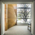 form, energy architecture, street, townhouse, contrast, connection, collaboration, tree, addition, space, courtyard, sculptural form, timber screen, truncated, textures, internal space, winter sun, light