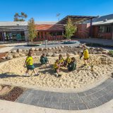 Nature, play, nature play, spaces, architecture, school, facilities, energy, energy architecture, OLSH, vision, reinvigorate, classrooms, imagination, creativity, natureplay